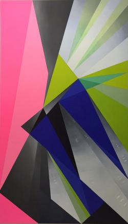 Playtimes, a new series of monumental paintings by York Visual Art Professor Janet Jones