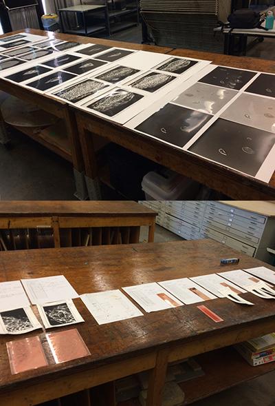 Gravure Workshop - black and white photos